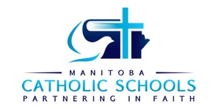Manitoba Catholic Schools Partnering in Faith logo